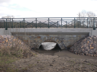 Auhagen Gewölbebrücke über den Mordgraben