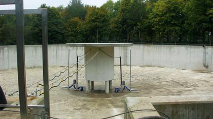 Schmutzwasserspeicherbecken, Lahde