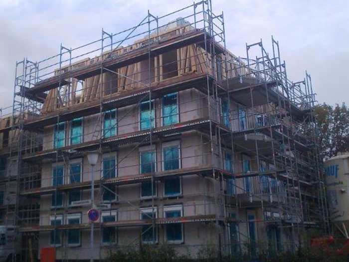 Neubau eins Mehrfamilienhauses in Bad Harzburg