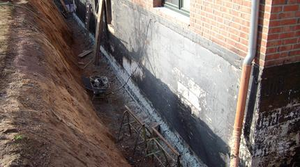 Sanierung Kelleraußenwände | Coop Minden