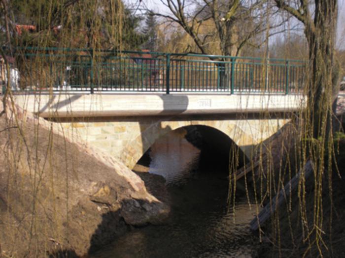 Riesbach Gewölbebrücke Riesbach-Wiesen