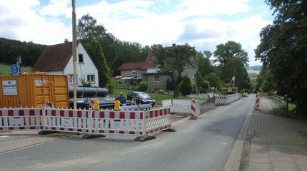 "Sanierung MW-Kanal ""Siedlungsstraße/Bonneberger Straße 2. BA"" in Vlotho-Bonneberg"