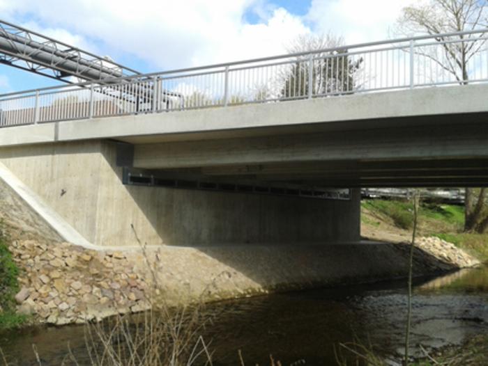 Brücke über die Fluthamel in Hameln