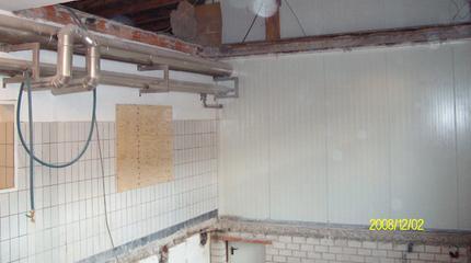 Nachträglicher Einbau eines Eiswassertanks | Frischli Rehburg-Loccum